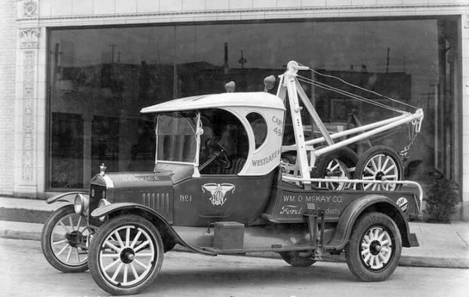 Towing Through The Ages Honk