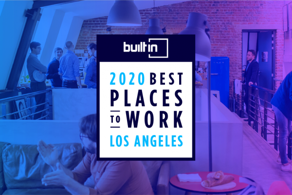 HONK, 2020 Best Place To Work in LA