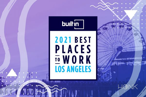 HONK Honored with 2021 Best Places To Work Awards