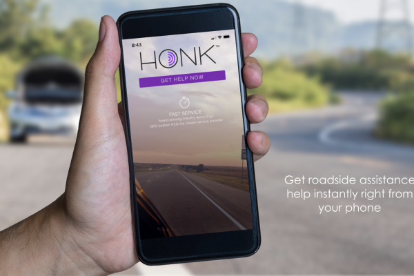 HONK Roadside Assistance App Demo