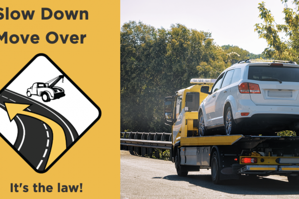 "HONK's Raising Awareness For ""SLOW DOWN – MOVE OVER"" Laws"